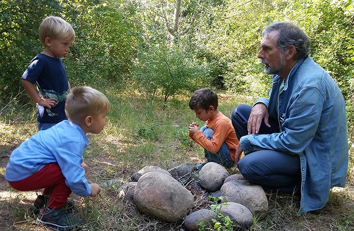La scuola nel bosco - La Valverde Verona