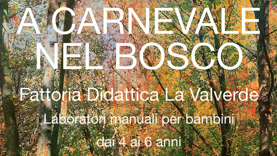 A Carnevale nel Bosco - Fattoria didattica Valverde Verona
