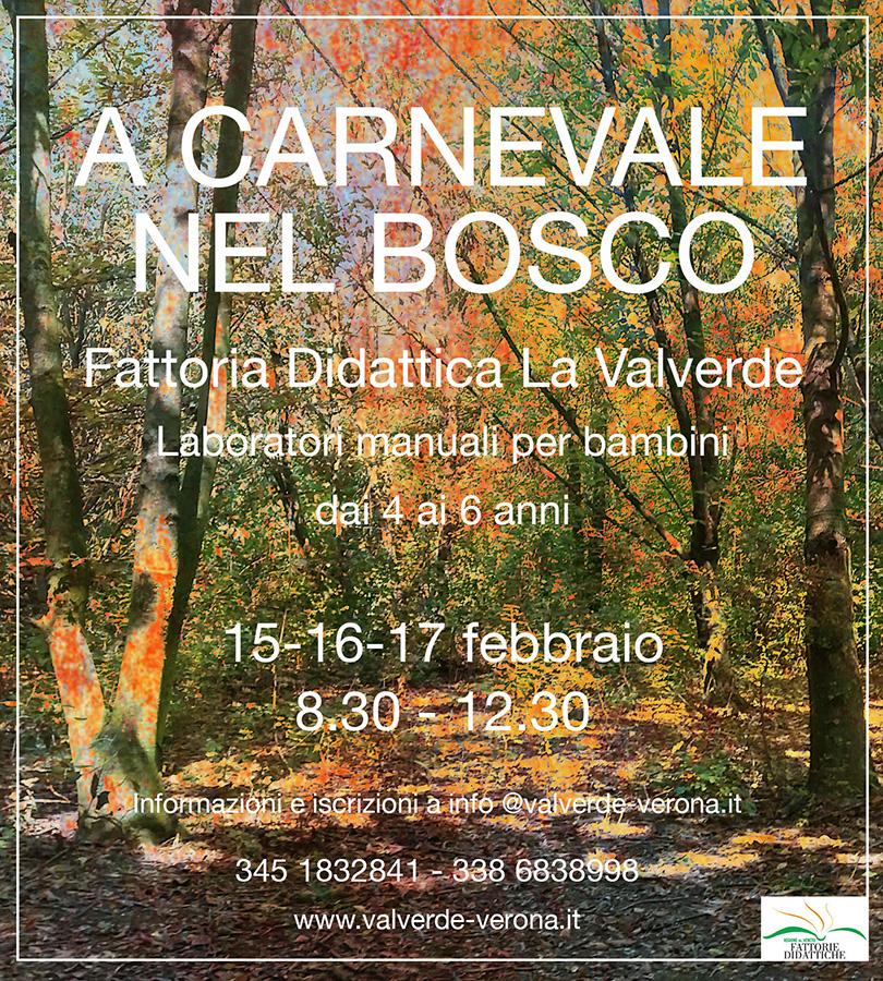 A Carnevale nel Bosco